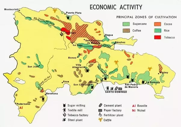 economic map economic maps display the arrangement of natural resources and economic activity within a place economic maps are usually color coded to