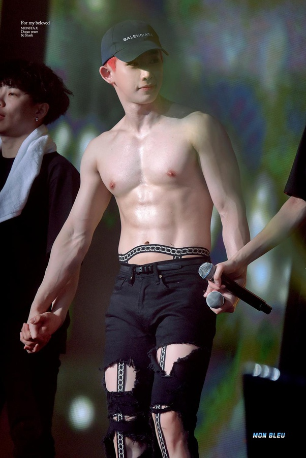 Who Are Some K Pop Idols With Amazing Abs Quora