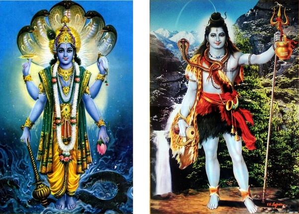 Are Lord Shiva and Lord Vishnu the same? Who is supreme? - Quora