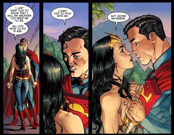 Is wonder woman dating batman or superman quiz