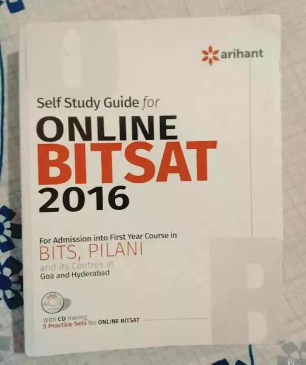 Which are the best books for preparation for bitsat quora after this you can solve bitsat practice questions and archived questions from self study guide for online bitsat book by arihant fandeluxe Images