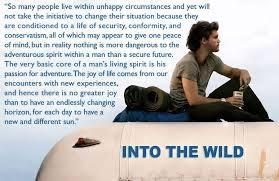 Quotes From Into The Wild What Are Some Significant Quotes From 'into The Wild'  Quora