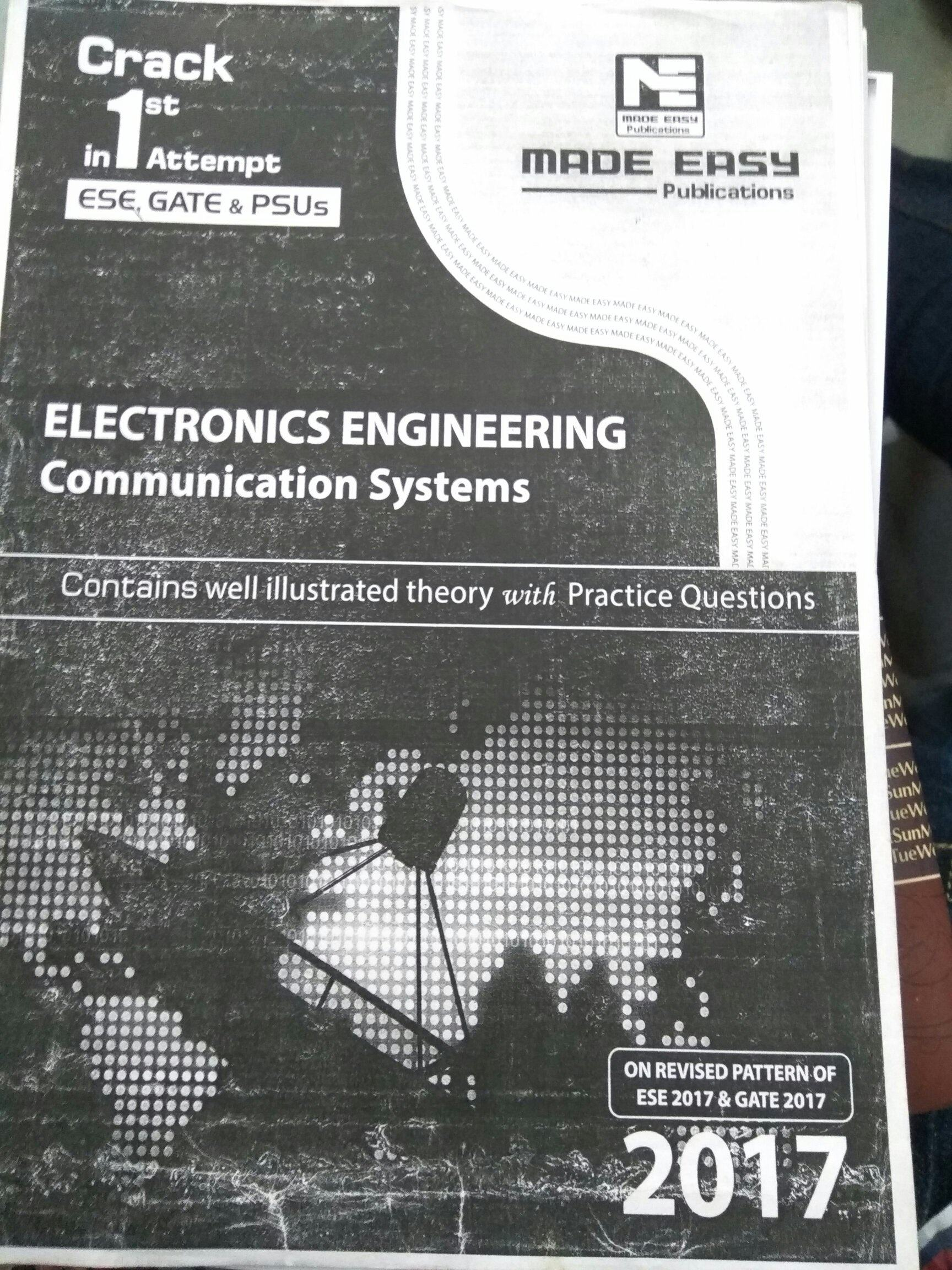 What Are The Books Preferred For Gate Ece Preparation Quora Analog Digital Integrated Circuits Question Bank Made Easy Handbook Should Be Your Time Passer Friend During Offs