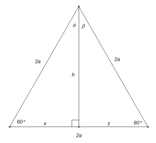 What Is The Height Of An Equilateral Triangle Having Side 2a Quora