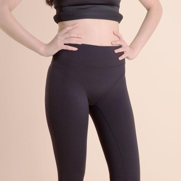 Share big ass black leggings
