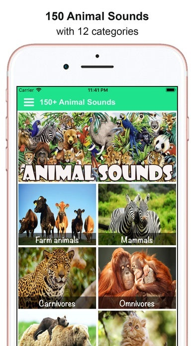 150 Animal Sounds Lite Is An Amazing Entertainment And Gaming App Which Will Be A Lot Of Fun Especially For Kids It Helps To Learn About Names