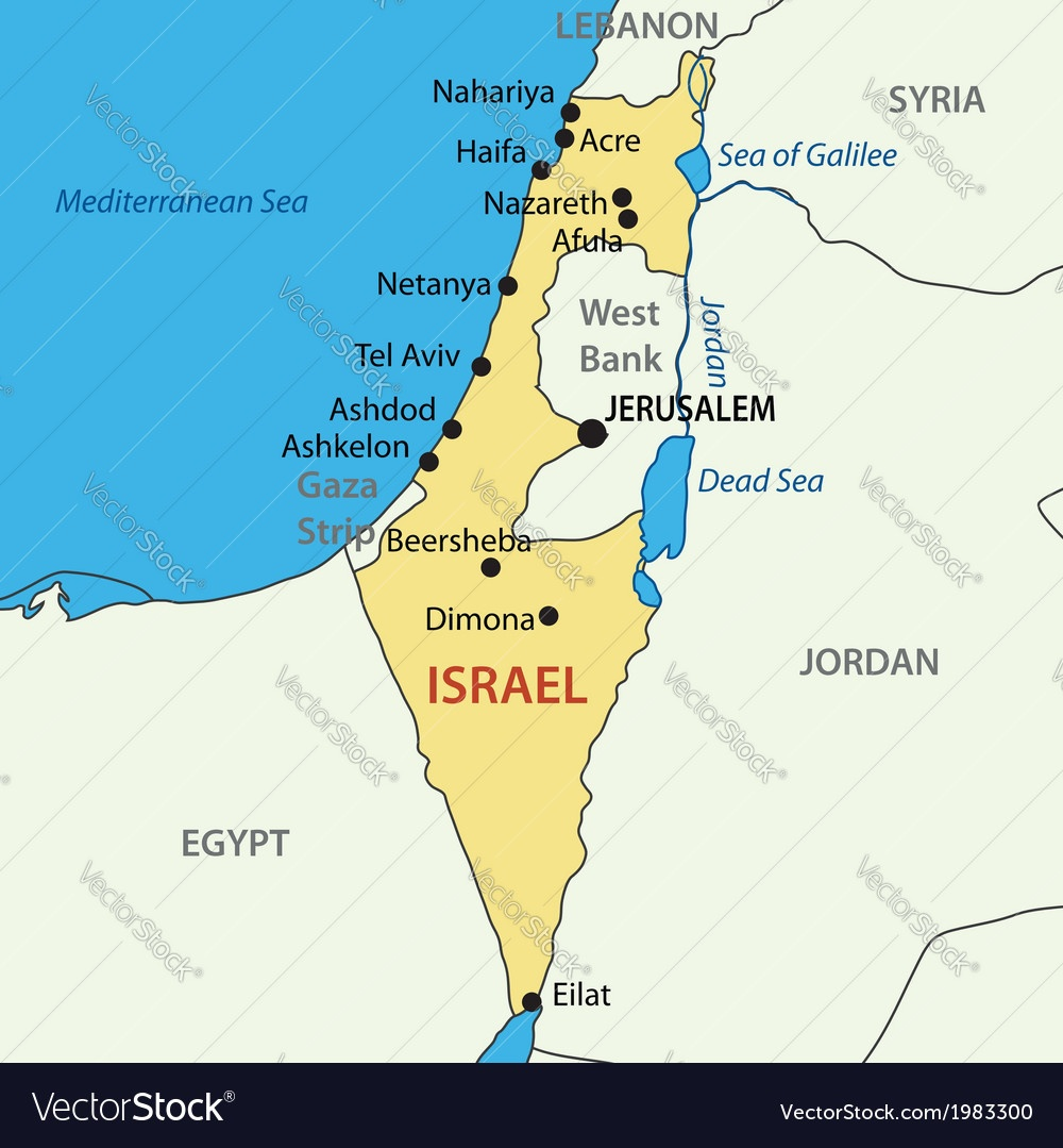 Is Israel on the world map? - Quora