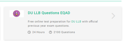 What is the best way to prepare for the DU LLB entrance exam? - Quora