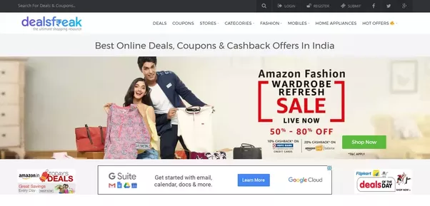 discount coupons sites in india