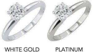 How Does Platinum Compare To White Gold For Wedding Rings