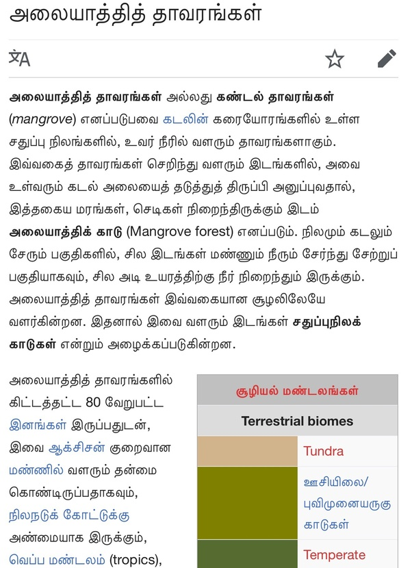 What does the Tamil meaning for pneumatophores in Avicennia? - Quora