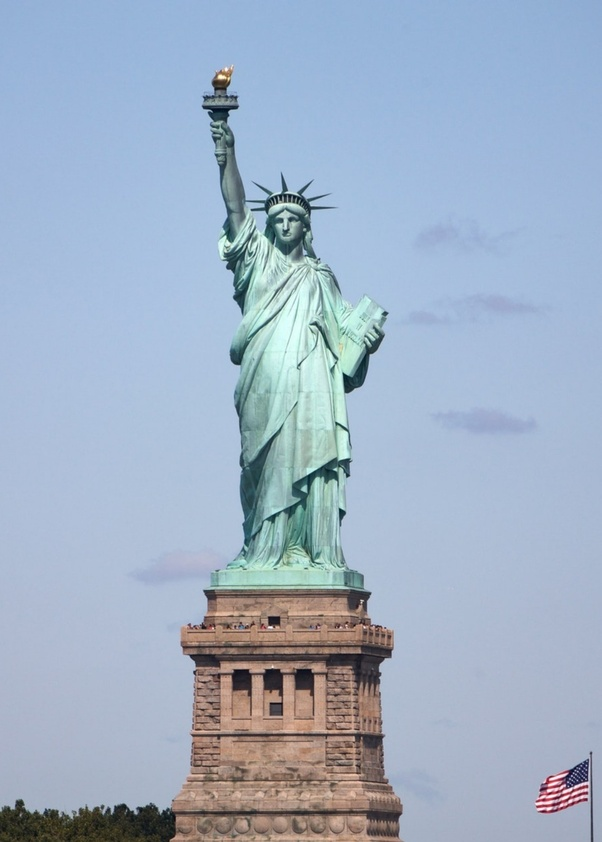 74bf66066 Why is the Statue of Liberty not a man? - Quora