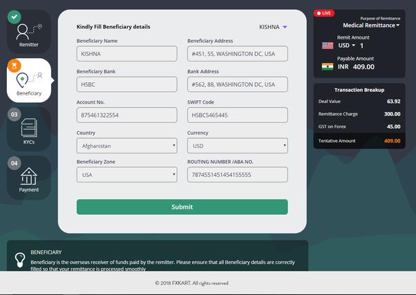 Puis-je transférer de l'argent depuis l'Inde via Paypal?