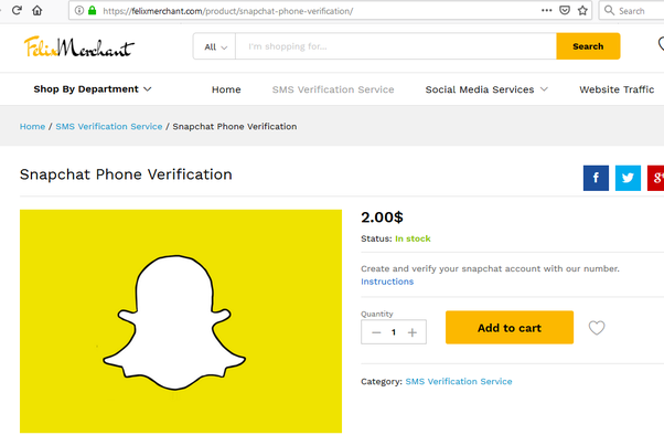 How to make a Snapchat account without a phone number or a