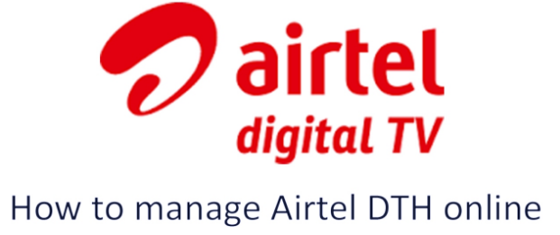 How to change Airtel DTH account phone number - Quora