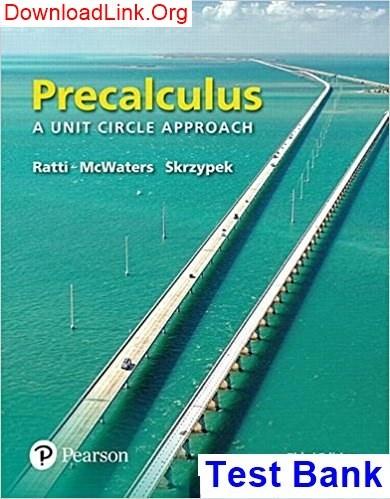Precalculus Concepts Through Functions Pdf