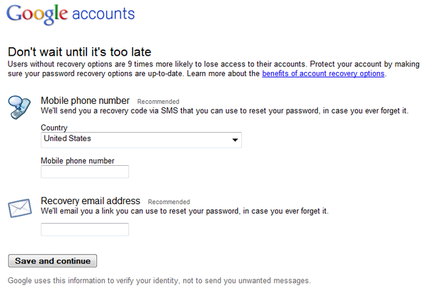 how to create a google gmail account without giving a phone number