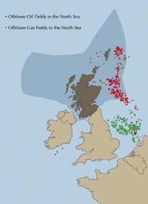 North Sea Map Location