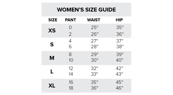 Here S A Helpful Size Chart To Use As Guide