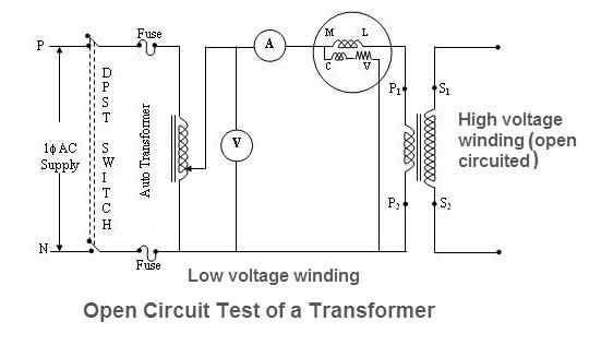 What is the no-load test of a three-phase transformer? - Quora