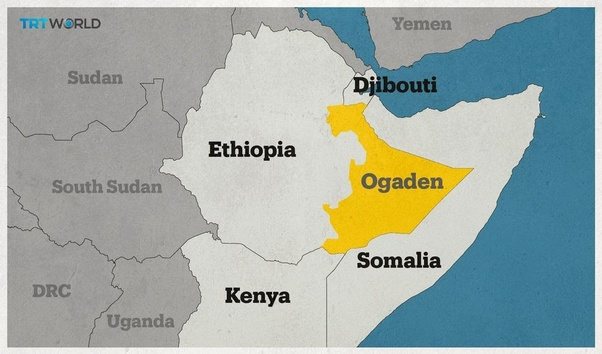 What is the difference between Ethiopia, Somalia and the Ogaden