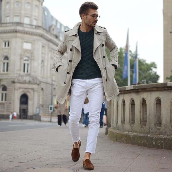 Wear White Shoes With Jeans