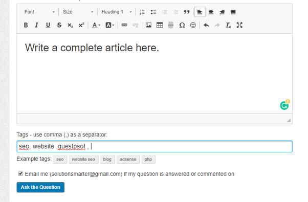 How to write guest posts in blog and websites - Quora