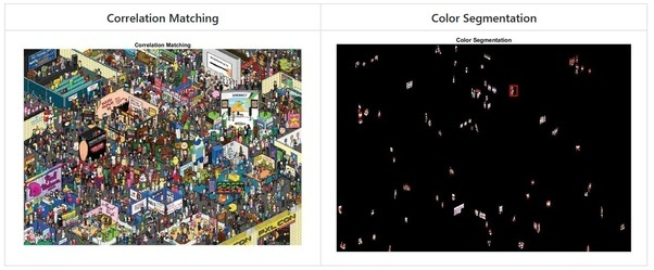 How to detect an object from static imagergb and crop it from the you could take a look at my blog post template matching and color segmentation in image processing wheres wally maxwellsz