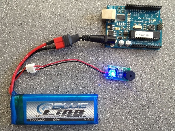 How can we use a LiPo battery with Arduino? - Quora