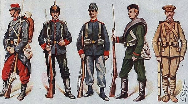 What did soldiers wear in World War 1? - Quora