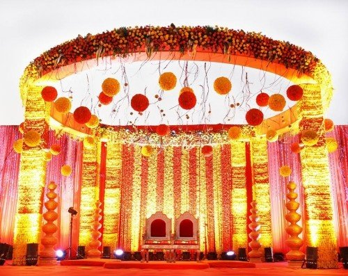 Some Of The Best Stage Decor Ideas For Indian Wedding Reception I Will Give