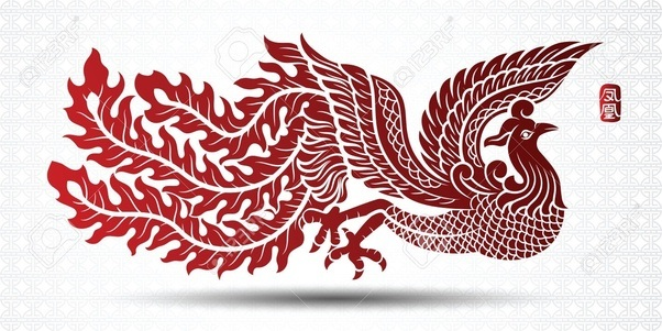 is there an actual image of the phoenix bird or are they all