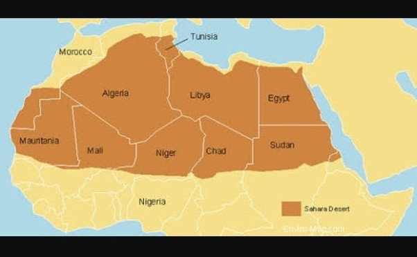 Which Countries Does The Sahara Desert Cover Quora - African desert names