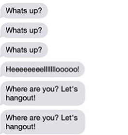 Things to talk about with your crush through text