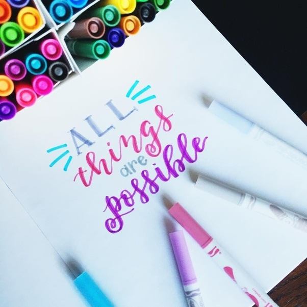 Calligraphy Being The Art Of Written Letter And Manipulating Their Beauty Through Styles Has Evolved Over Years Become Pretty Mainstream As A Hobby