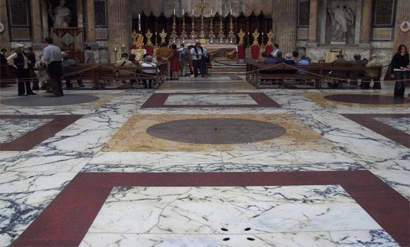 What Happens In The Roman Pantheon During The Rain Quora