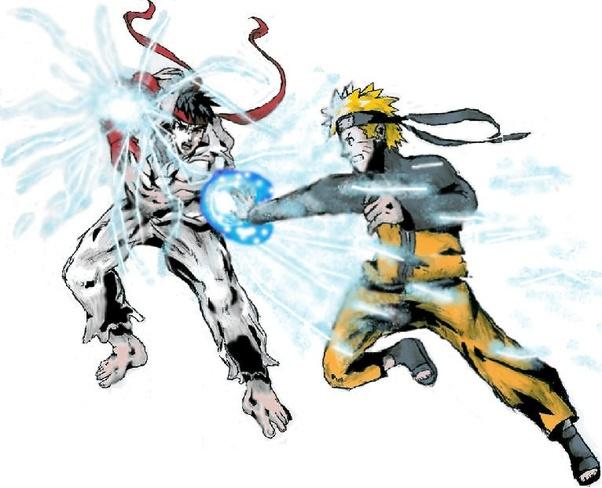Who would win, Naruto vs Ryu? - Quora