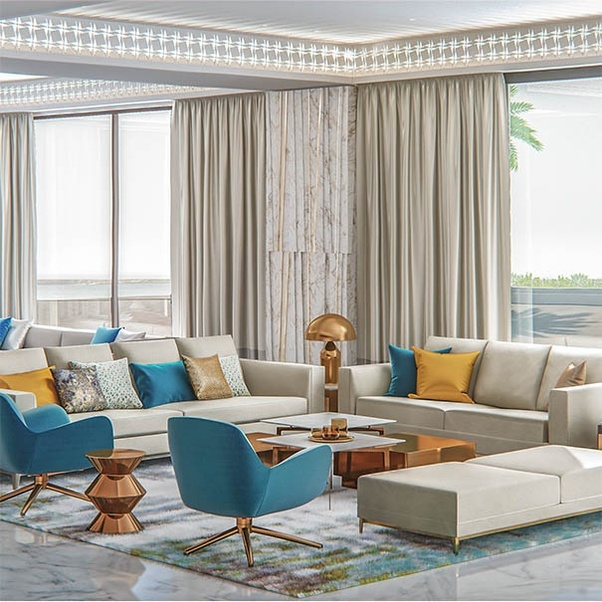 There Are A Large Number Of Interior Design Companies In Dubai.