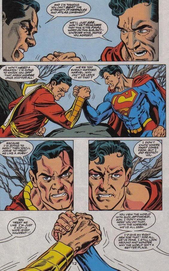 Resultado de imagem para shazam superman
