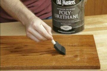 Use polyurethane & Can we apply varnish after sanding (instead of paint or polish) to ...
