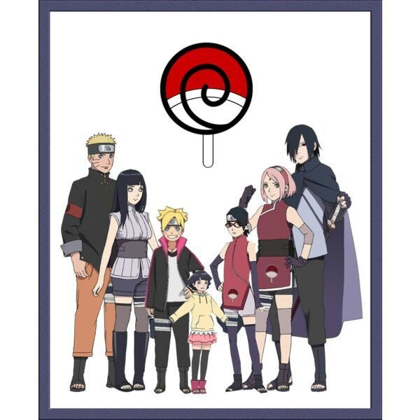 Why does Boruto have the clan name of his father, whereas other