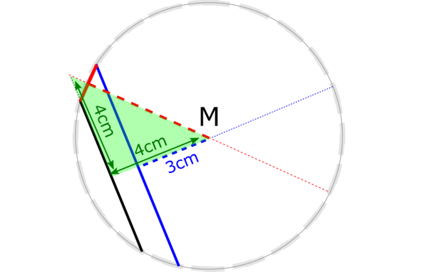 2 Chords 6 Cm And 8 Cm Long Of A Circle Are Parallel And Lie On