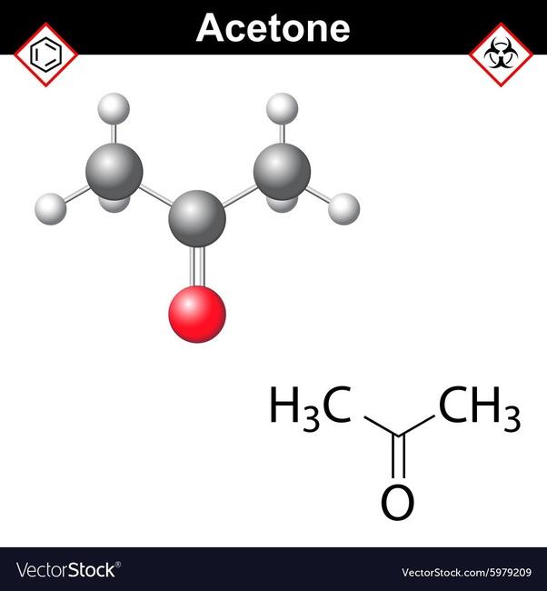 Cuál Es La Fórmula Molecular De La Acetona Quora