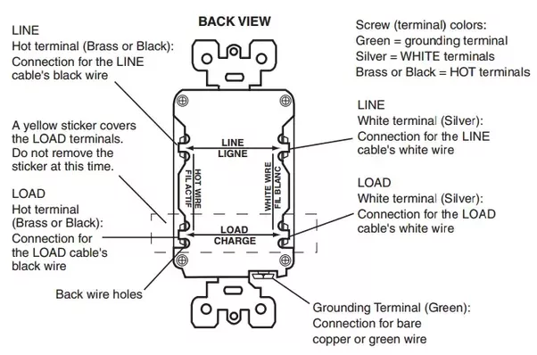 can two gfcis be installed on a 20amp circuit breaker quora rh quora com leviton gfci receptacle wiring diagram Leviton GFCI Outlet