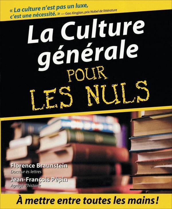 Culture générale quels livres à lire