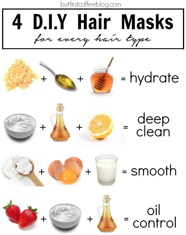 homemade hair masks can we use after