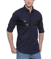 afaef4519be Dark blue shirt is very common and looks good with majorly all colours. Be  it black