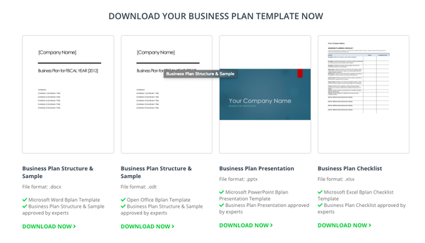 Where Can I Find Some Good Business Plan Templates Quora