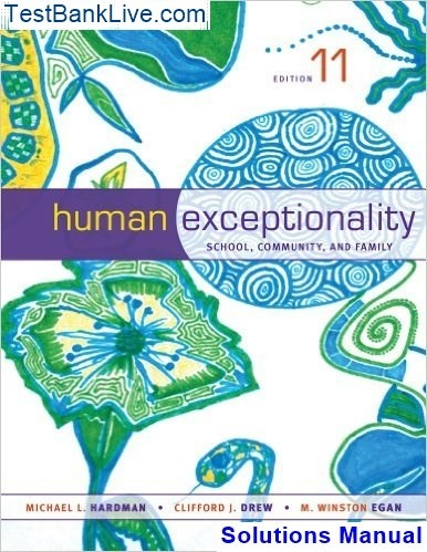 Free pdf human exceptionality school community and family video.