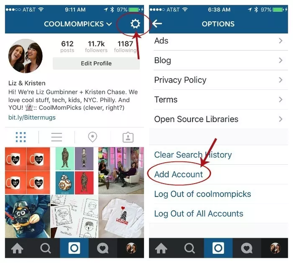What's the best way to post to multiple Instagram accounts ...